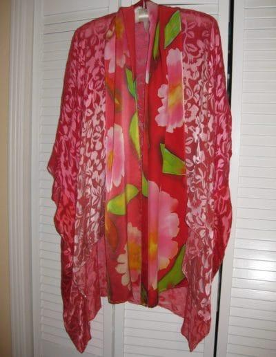 Passion Kimono & Blossoming into Love Scarf